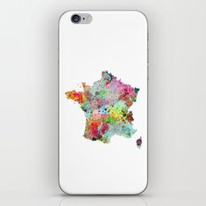 France map iPhone & iPod Skin