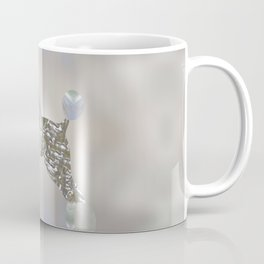 Luxury Pearl and Abalone Poodle Coffee Mug