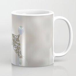 Luxury Pearl and Abalone Poodle Coffee Mug