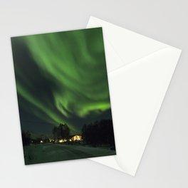 Aurora Swinging Past Stationery Cards