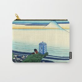 Tardis Wave Rivers Carry-All Pouch