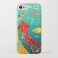 underwater iPhone & iPod Cases featuring Underwater by Brianne Burnell