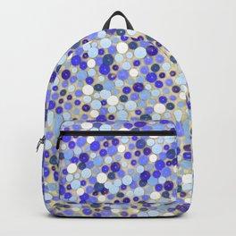 Blue disks Backpack