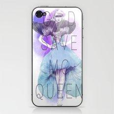God Save McQueen iPhone & iPod Skin