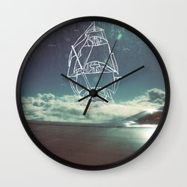 Sail the Skies Wall Clock