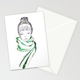 Autumn Kisses Stationery Cards