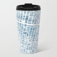 Philadelphia City Map Metal Travel Mug