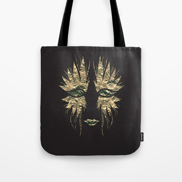 The Masquerade (On Black) Tote Bag