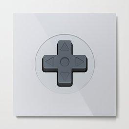 Super Nintendo - D-Pad Metal Print