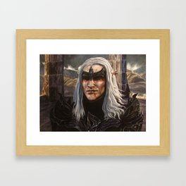 King of Worms Framed Art Print
