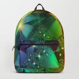 shining flower Backpack
