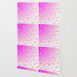 Little animals patterns Wallpaper