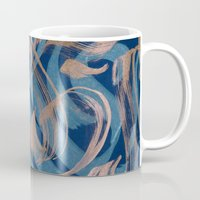 the strokes Mugs featuring Strokes by Roberlan Borges