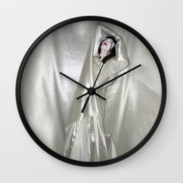 "say no to patriarchy / ""the drama"" Wall Clock"