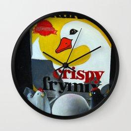 Crispy Frymix Wall Clock
