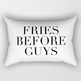 Fries before guys Rectangular Pillow