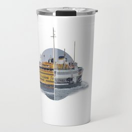 Ferries - nyc vs istanbul Travel Mug