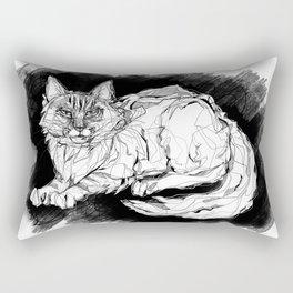 Dio the Maine Coon Rectangular Pillow