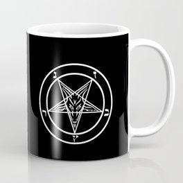 Ave Satanas (White) Coffee Mug