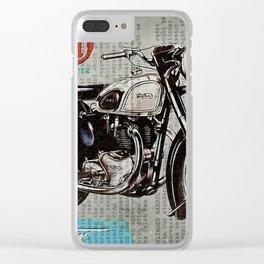 Norton Dominator 1951 Clear iPhone Case