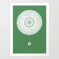 Connectivity Art Print