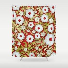 Art Flowers V3 Shower Curtain