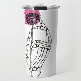 Life in the Hands of Death Travel Mug