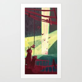 Unexpected Signs! Art Print