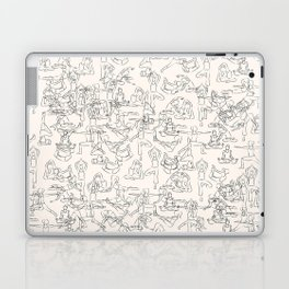 Yoga Manuscript Laptop & iPad Skin