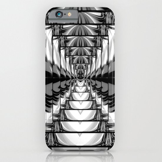 Abstract.Black+White. iPhone & iPod Case