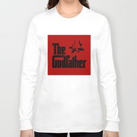 godfather Long Sleeve T-shirts featuring The Godfather by SwanniePhotoArt
