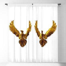 Gold eagle Blackout Curtain