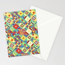 Mesmerised Shapes Stationery Cards