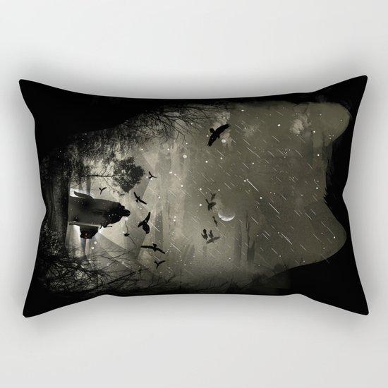 The Lord Crow Rectangular Pillow