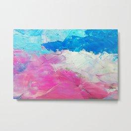 Colorful Oil Painting Metal Print