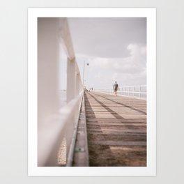 Short Walk Art Print