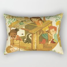 Our House In the Woods Rectangular Pillow