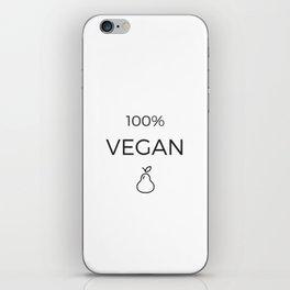 100% VEGAN iPhone Skin