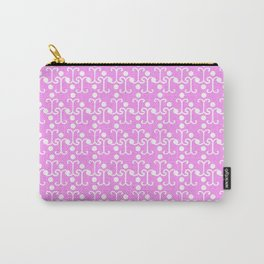 Lattice Pattern (Pink) Carry-All Pouch