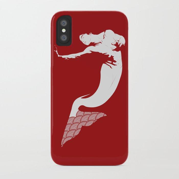 Merman - Red & White - Mermay 2019 iPhone Case
