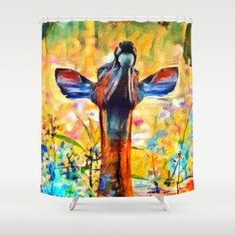 Godspeed Shower Curtain