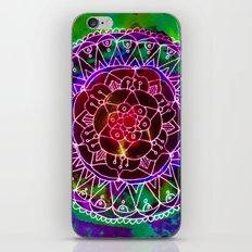 Colorwheel Mandala Purple iPhone & iPod Skin