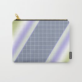 Colorful diagonal stripes . 2 Carry-All Pouch