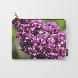 Pruple Flower Close Up Carry-All Pouch