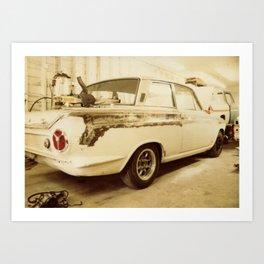 Cortina 01 Art Print