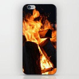 Fireside iPhone Skin