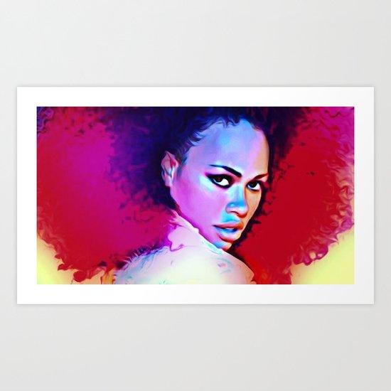 Elle Varner Art Print