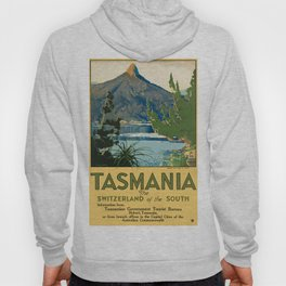 Vintage poster - Tasmania Hoody