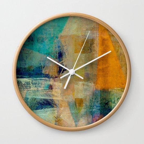 農民 (The Peasant) Wall Clock