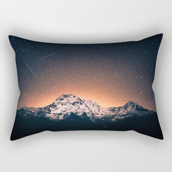 Magical Mountain #galaxy #photography Rectangular Pillow